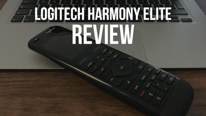 Logitech Harmony Elite Review - DLS Tech