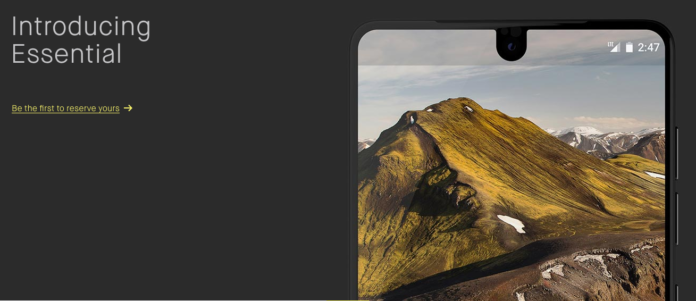 Andy Rubin Essential phone release date unveiled unveil revealed - DLS Tech