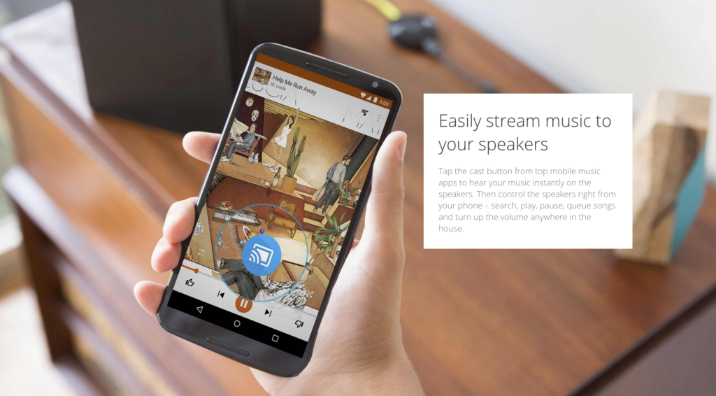 Chromecast Audio - Cast from your phone - DLS Tech