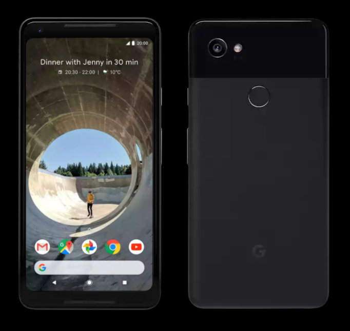 Google Pixel 2 2017 flagship in black, UK on EE - DLS Tech