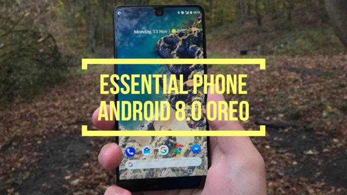 Essential Phone Android 8.0 Oreo beta update - DLS Tech