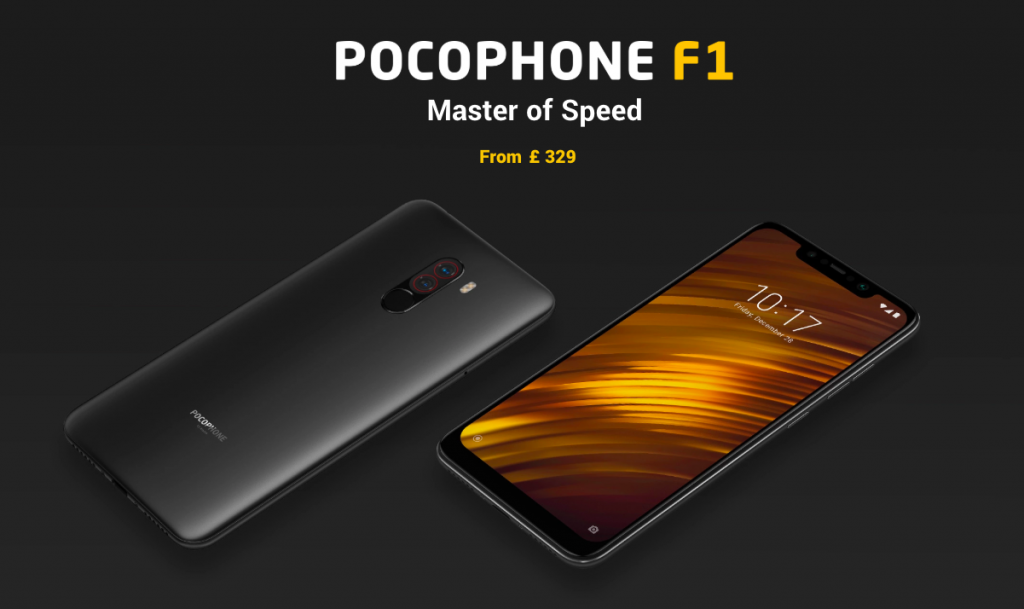 Pocophone F1 UK launch - DLS Tech