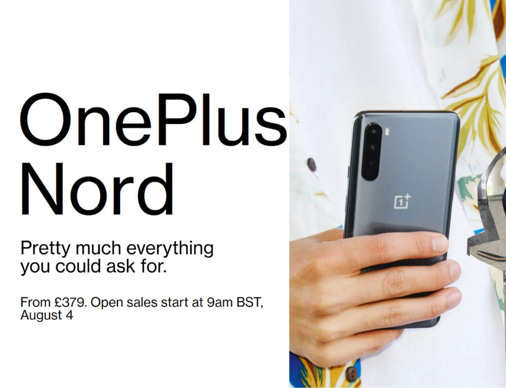 OnePlus Nord UK price and launch date 2020 - DLS Tech