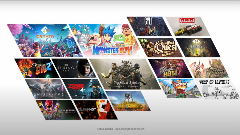 Stadia Pro games July 2020 - Stadia Connect - DLS Tech