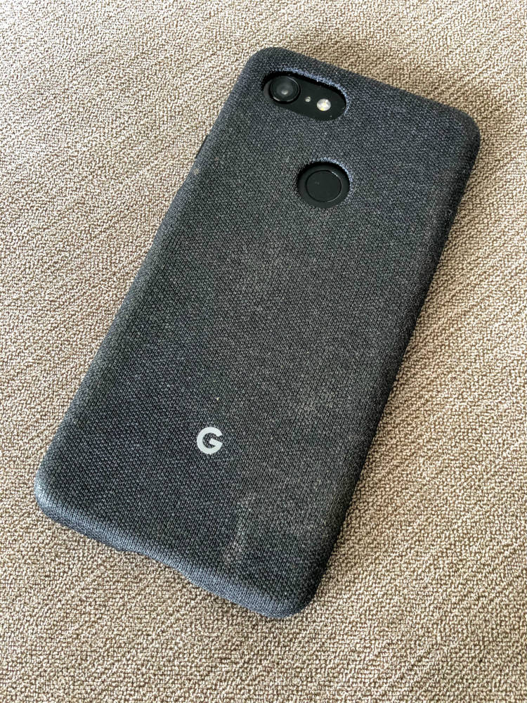 Google Pixel 3 XL Fabric Case - DLS Tech