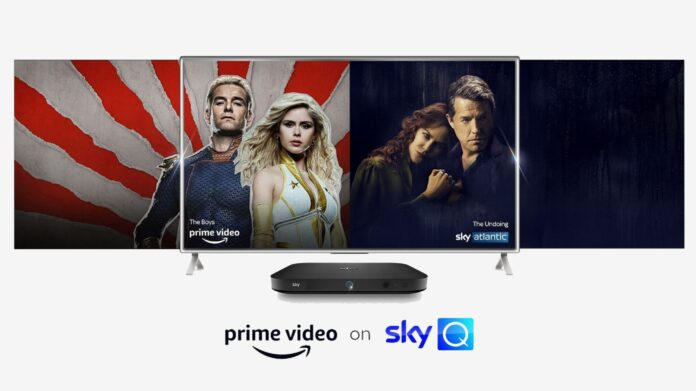 Amazon Prime on Sky Q - DLS Tech